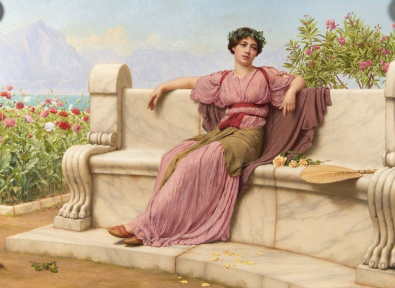 John William Godward Tranquility