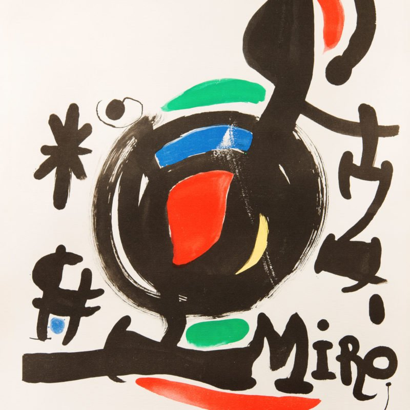 4143 - Juan Miro - Abstract - Unframed