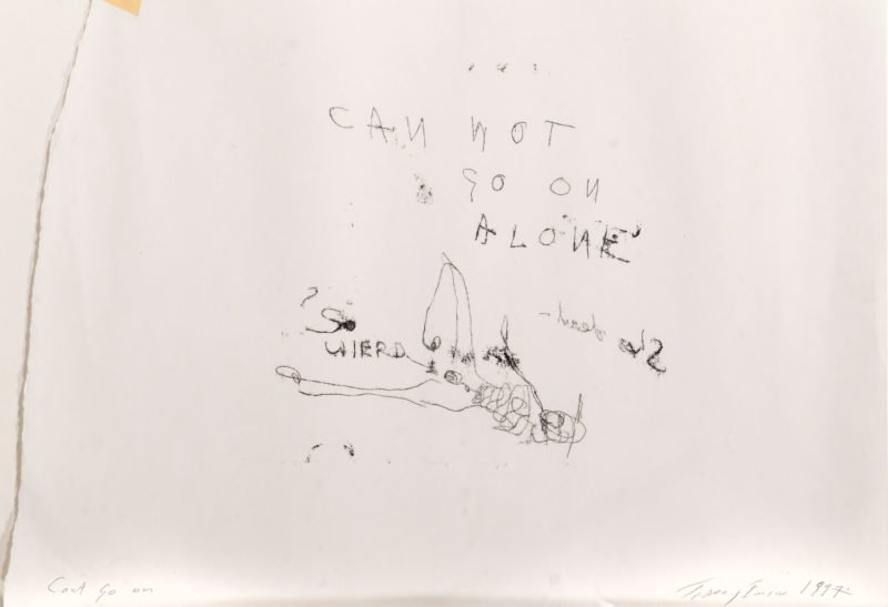 4358 - Tracey Emin - Can't Go On, 1997 - Unframed