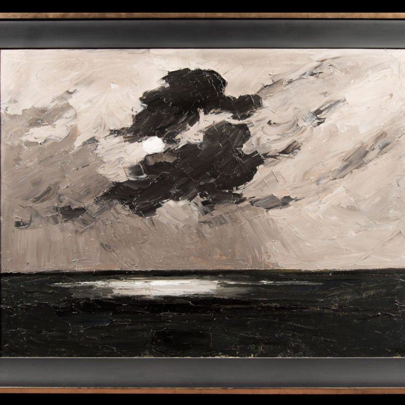 4559 - Kyffin Williams - Clouds off South Stack 1 - Framed