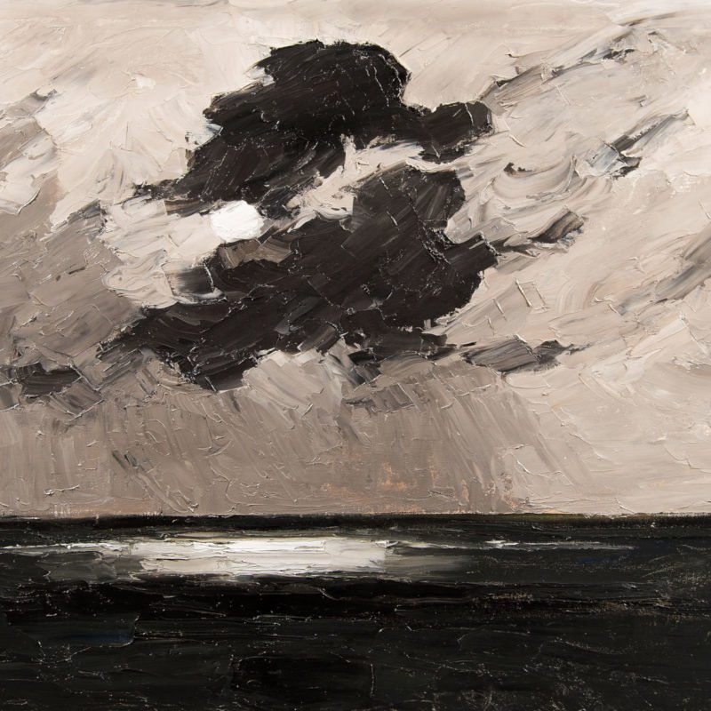 4559 - Kyffin Williams - Clouds off South Stack 1 - Unframed WEB