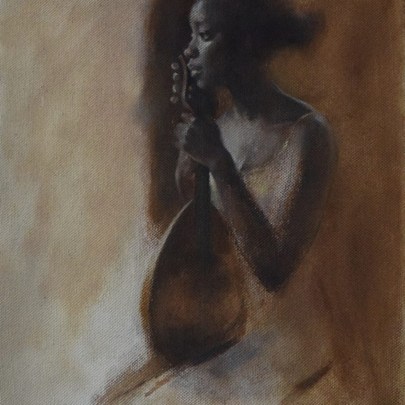 Neil B. Helyard - Fatou, Seated