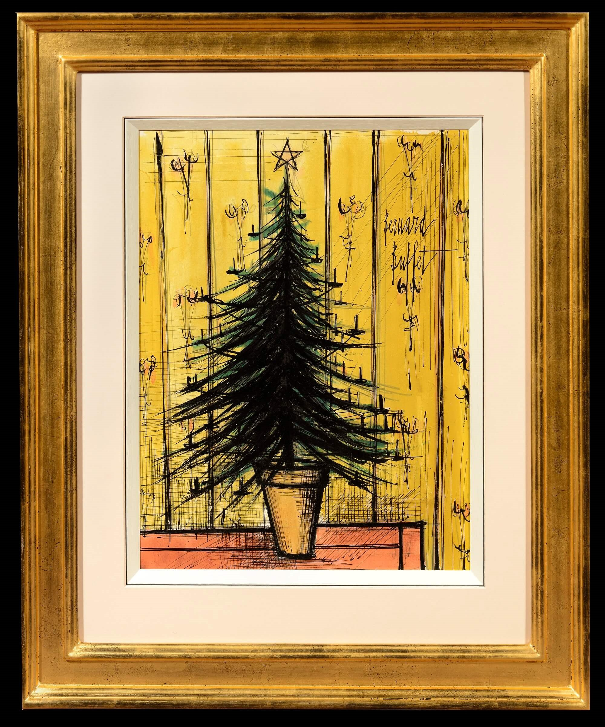 bernard-buffet-tree