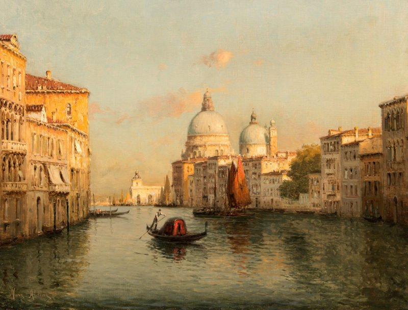Mark Aldine sunrise Venice