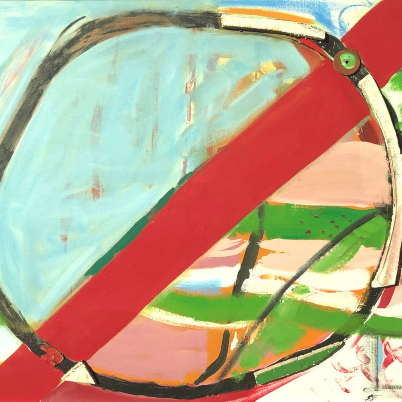Lanyon gliding paintings