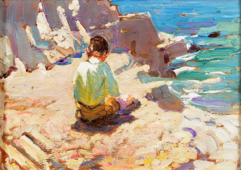 Dorothea Sharp Study of a Young Boy