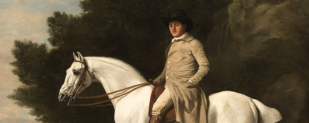 George Stubbs original oil painting
