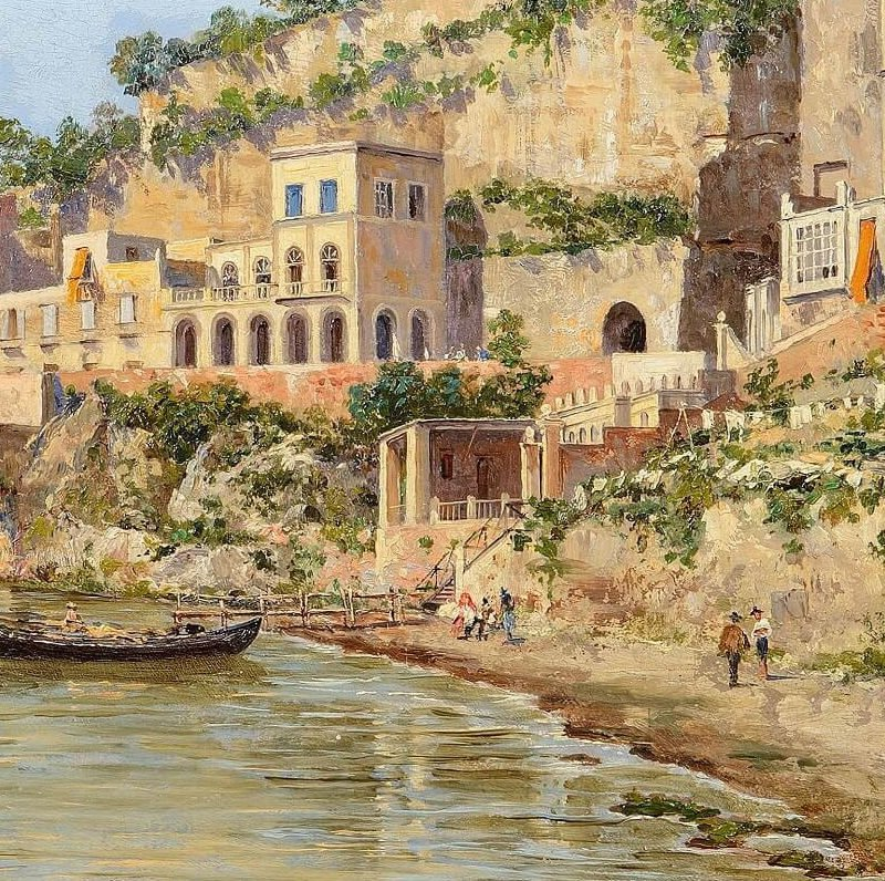 5654-antonietta-bradeis-A view of Posillipo, Naples
