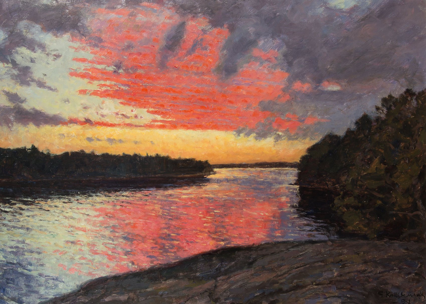 4445-Kallstenius-Summer Sunset