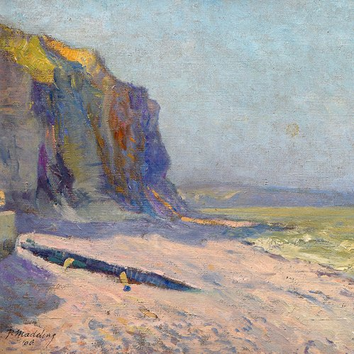 Falaises vers Etretat, 1906 by Paul Madeline