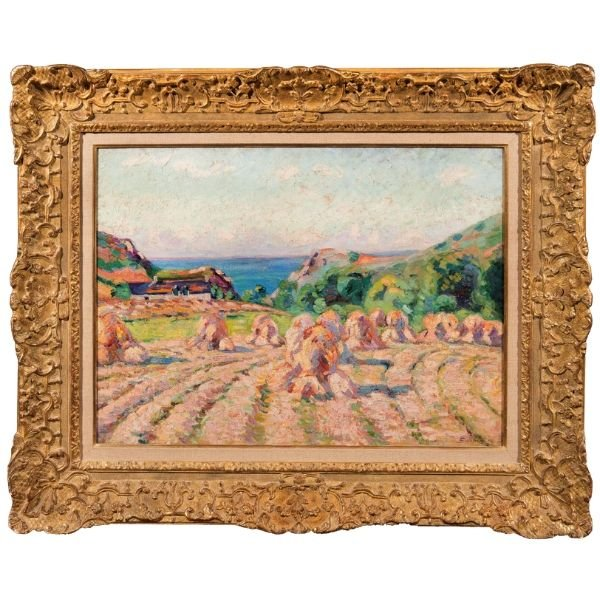 Haystacks, 1907 by Armand Guillaumin