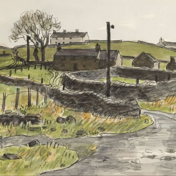 Nr. Rhosgadfan by Kyffin Williams