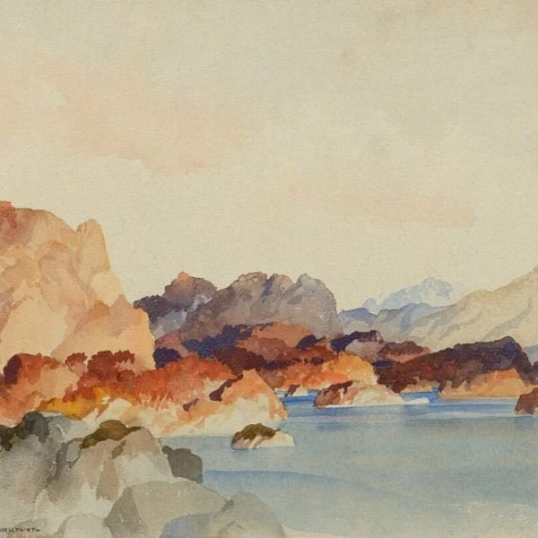 A Peaceful Autumn Afternoon, 1965 by Sir William Russell Flint