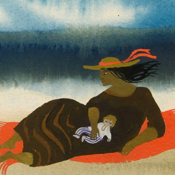 The Red Rug, 1992 by Mary Fedden