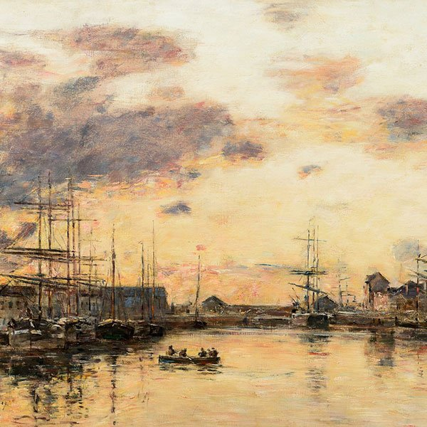 Trinity House Paintings - San Francisco Show 2020 - Boudin