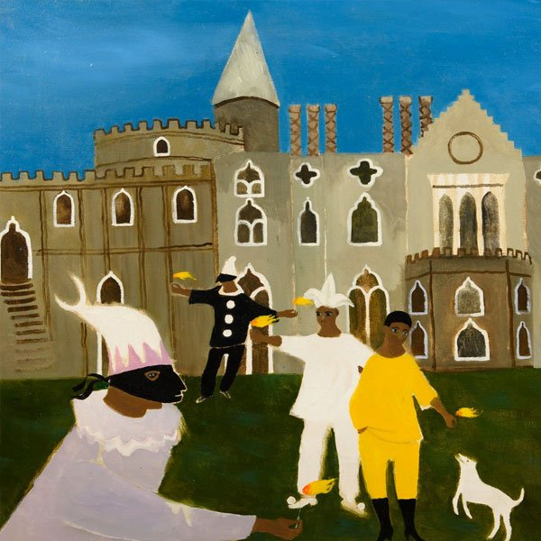 Masque at Strawberry Hill, 1990 by Mary Fedden