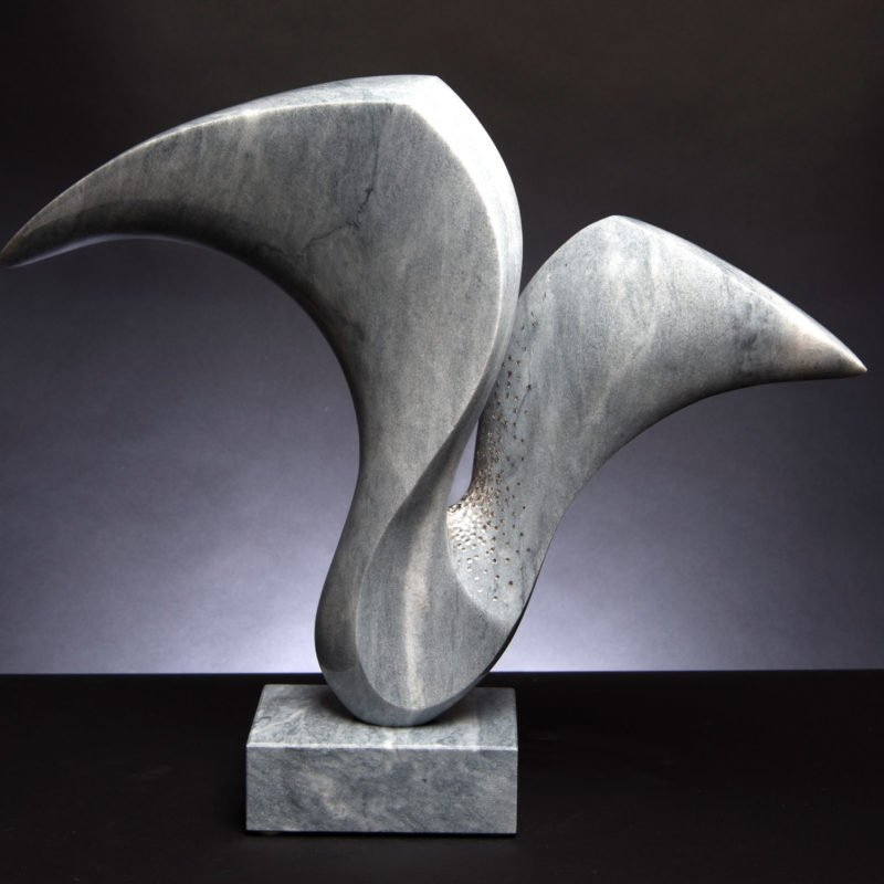 abstract stone sculpture